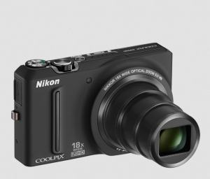 Nikon CoolPix S9100 Manual - camera front side