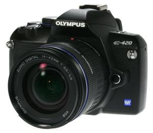 Olympus E-420 Manual for High-Featured Compact Olympus SLR