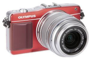 Olympus E-PM2 Manual - camera front face