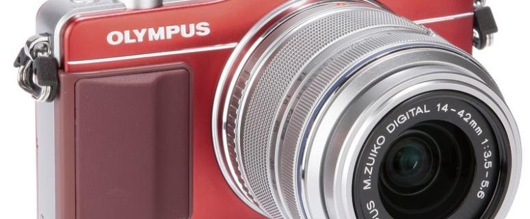 Olympus E-PM2 Manual - camera front face