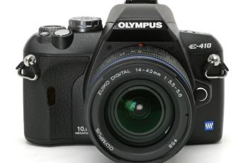 Olympus EVOLT E-410 Manual User Guide and Product Specification