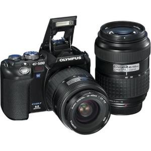 Olympus EVOLT E-500 Manual for Olympus Affordable Digital SLR with Interesting Feature