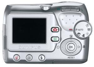 Olympus FE-110 Manual-camera back side
