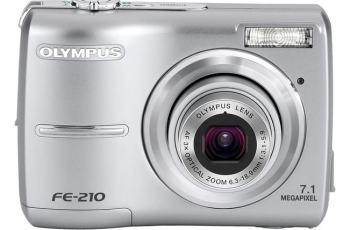 Olympus FE-210 Manual - camera front face
