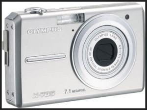 Olympus FE-220 Manual - camera front face