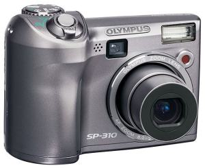 Olympus SP-310 Manual - camera front face