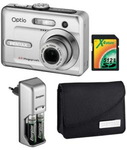 Pentax Optio E20 Manual - camera kit
