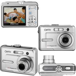 Pentax Optio E20 Manual - camera looks