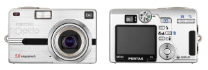 Pentax Optio SV Manual - camera appearance