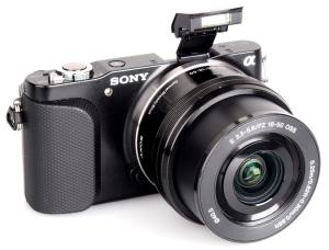 Sony NEX-3N Manual - camera front face
