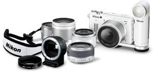 Nikon 1 AW1 Manual - camera with lens set