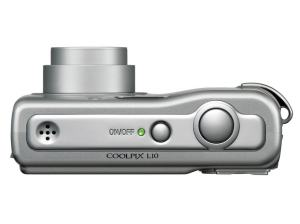 Nikon CoolPix L10 Manual - camera side
