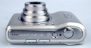 Nikon CoolPix L16 Manual - camera side