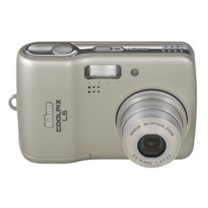 Nikon CoolPix L6 Manual-camera front side