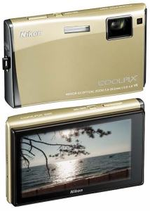 Nikon CoolPix S60 Manual - camera back and front side