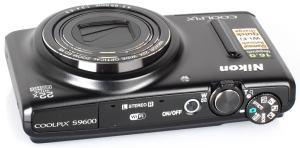 Nikon CoolPix S9600 Manual - camera side