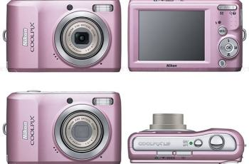Nikon Coolpix L19 Manual - camera sides