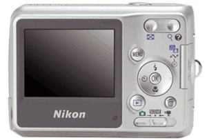 Nikon Coolpix L4 Manual - camera back side