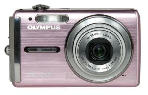 Olympus FE-340 Manual - camera front face