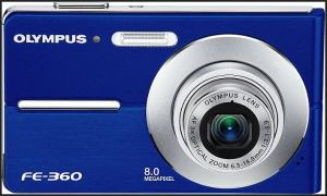 Olympus FE-360 Manual for Olympus Fashionable 8MP Compact