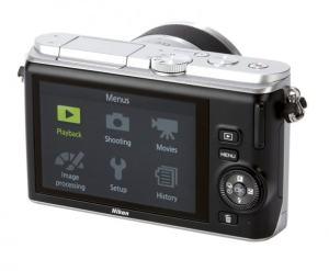 Nikon 1 J3 Manual - camera back side