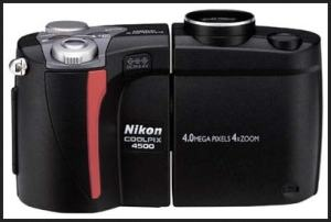 Nikon CoolPix 4500 Manual User Guide and Camera Specification.
