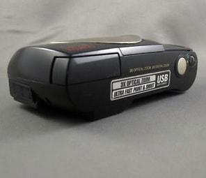 Olympus D-150 Manual - camera side