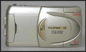 Olympus D-490 Zoom Manual - camera front face