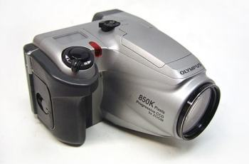 Olympus D-500L Manual - camera front face