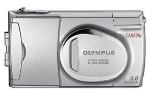 Olympus D-550 Zoom Manual User Guide and Product Specification