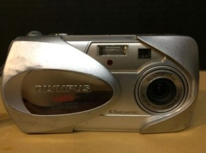 Olympus D-565 ZOOM Manual - camera front side