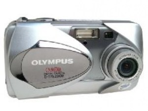 Olympus D-575 Zoom Manual - camera front face