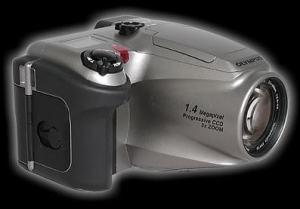 Olympus D-620L Manual-camera side
