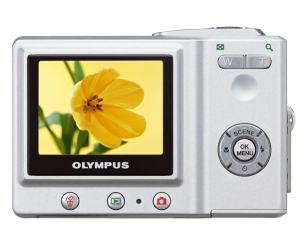 Olympus D-630 Zoom Manual - camera back side