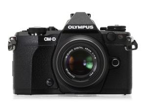 Olympus E-M5 Manual -camera front face