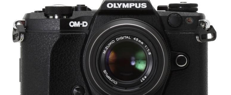 Olympus E-M5 Manual -camera front face