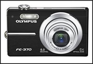 Olympus FE-370 Manual - camera black variant