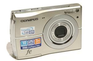 Olympus FE-45 Manual - camera front face
