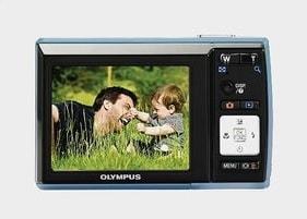 Olympus FE-46 Manual - camera back side