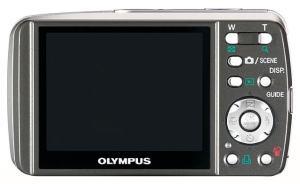 Olympus Stylus 600 Manual - camera back side