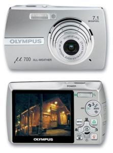 Olympus Stylus 700 Manual-camera front and back side