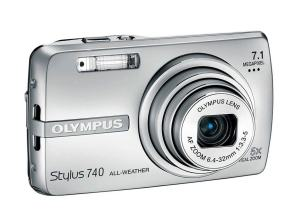 Olympus Stylus 740 Manual User Guide and Product Specification