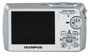 Olympus Stylus 760 Manual - camera back side
