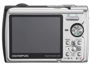 Olympus Stylus 790 SW Manual - camera back side