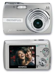 Olympus Stylus 810 Manual - camera front and back face