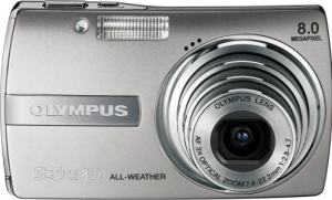 Olympus Stylus 810 Manual - camera front face