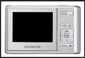 Olympus T-100 User Manual - camera back side