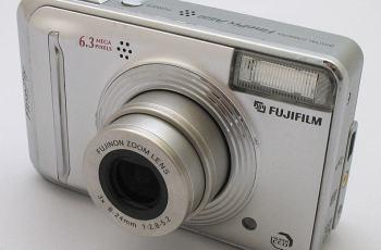 Fujifilm FinePix A600 Manual - camera front face