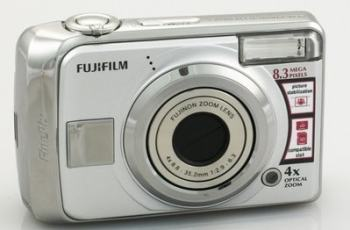 Fujifilm FinePix A820 Manual For Fuji's Considerable Point-and-Shot Compact Camera