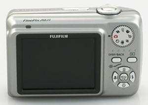 Fujifilm FinePix A820 Manual-camera back side
